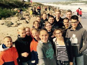 Jugendfeuerwehr Winkel im Zeltlager an der Ostsee